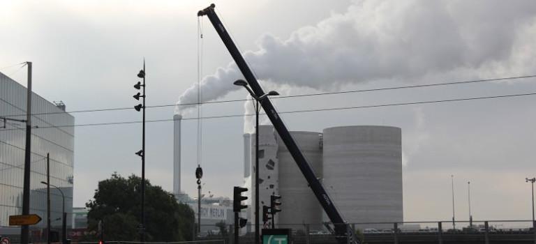 Nouvelle manif contre la reconstruction de l'incinérateur d'Ivry-sur-Seine