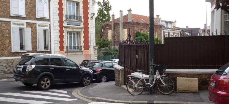 Pas toujours facile de garer son vélo en ville