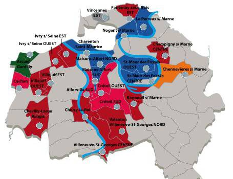 Résultats des cantonales dans le Val de Marne : tous les détails par canton