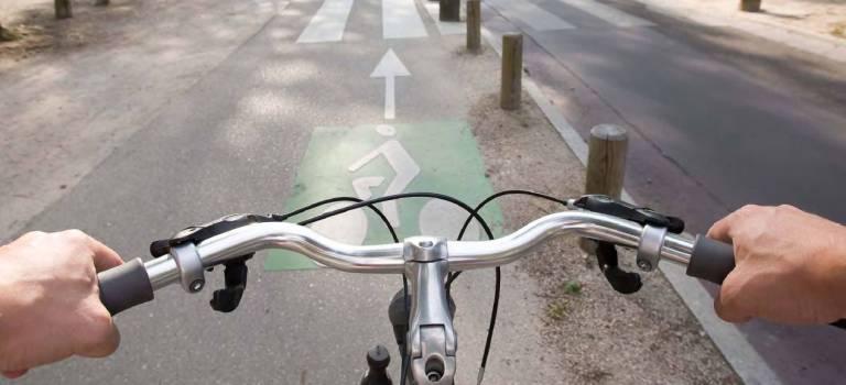 Manif à vélo à Gentilly pour fêter la Journée sans voitures