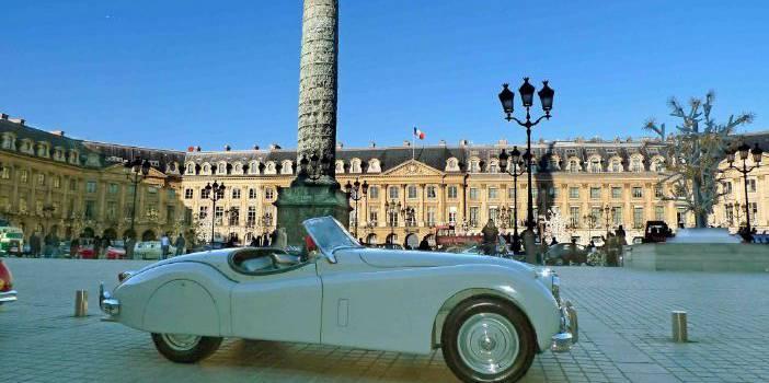 21e Traversée de Paris en véhicules d'époque