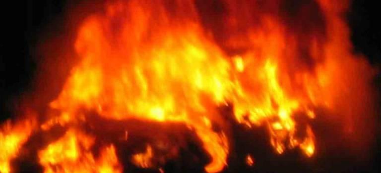 Départ de feu à l'usine Paprec de Villeneuve-le-Roi