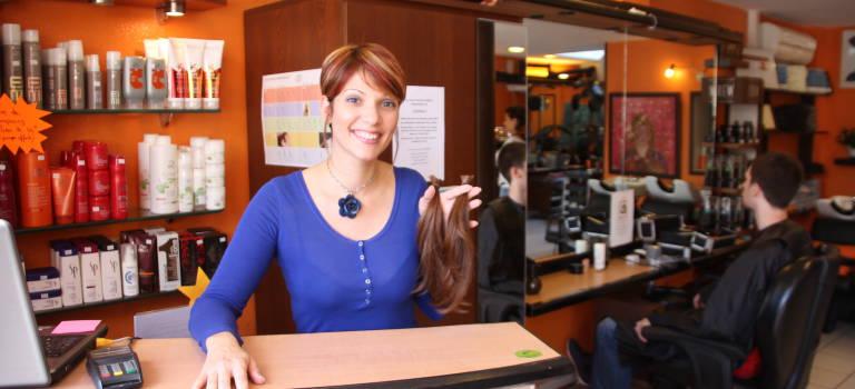 Solid'Hair récupère les cheveux coupés pour la bonne cause