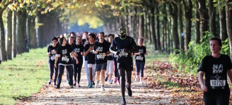 Défi Run : course d'obstacles au bois de Vincennes