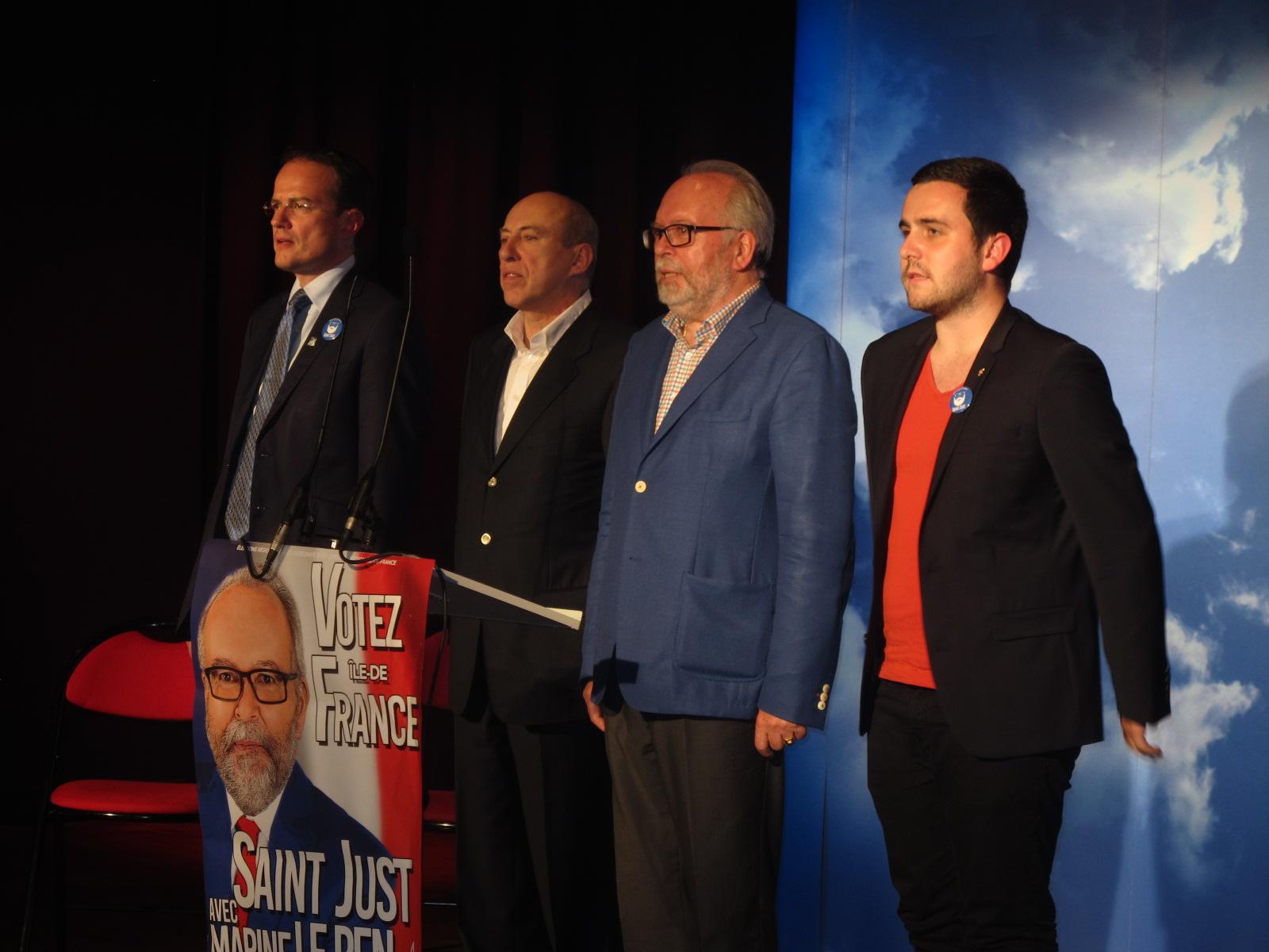 Meeting FN Marseillaise