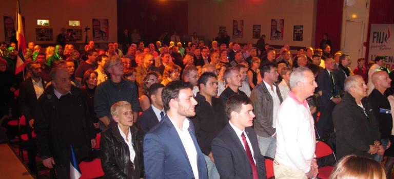 Régionales : Wallerand de Saint-Just a lancé la campagne FN en Val-de-Marne