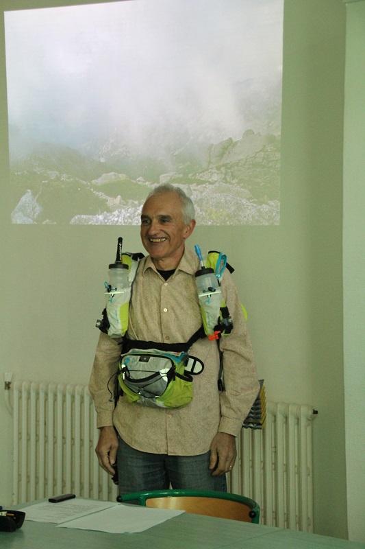 Marc Brunet avait toutes ses affaires dans un simple sac, y compris 6 jours de vivres