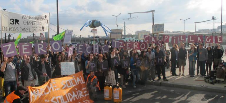 200 personnes ont marché contre la reconstruction de l'incinérateur d'Ivry-Paris XIII