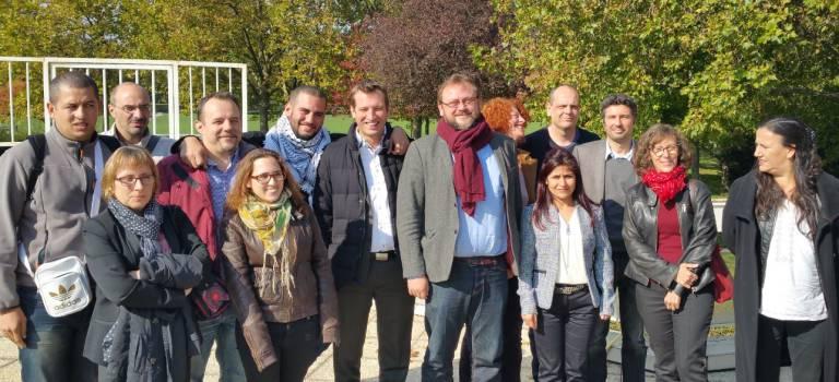 Liste du Front de gauche Val-de-Marne et Ile-de-France aux élections régionales 2015