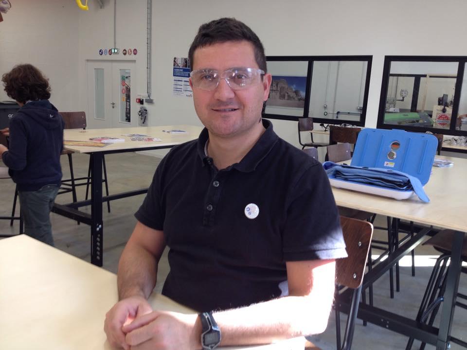 Christophe Raillon Chef de projet TechShop