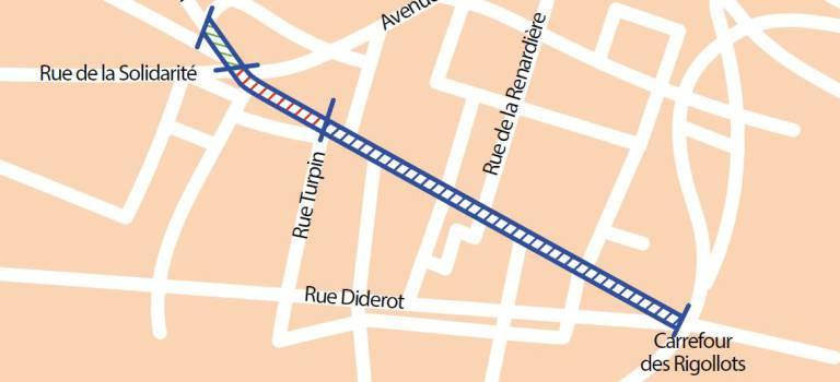 7 mois de travaux avenue de Stalingrad à Fontenay-sois-Bois