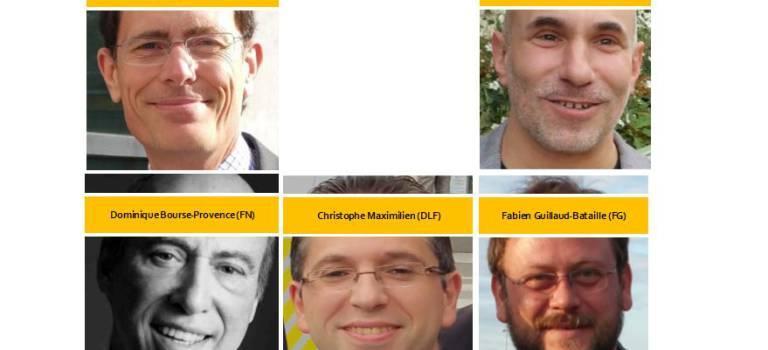 Régionales Ile-de-France : débat entre têtes de liste du Val-de-Marne ce soir