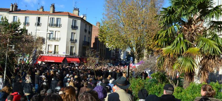A Alfortville, un millier de personnes rendent hommage aux victimes des attentats