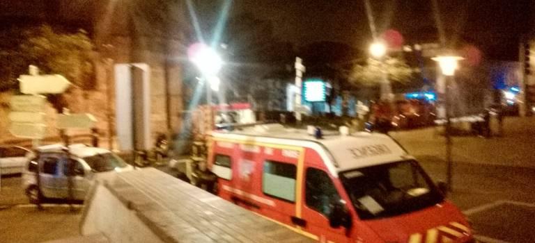 Incendie à la mairie de Villejuif