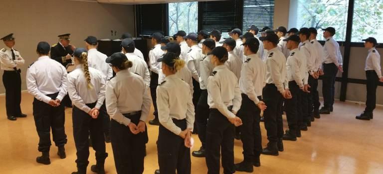 34 nouveaux policiers accueillis en Val-de-Marne