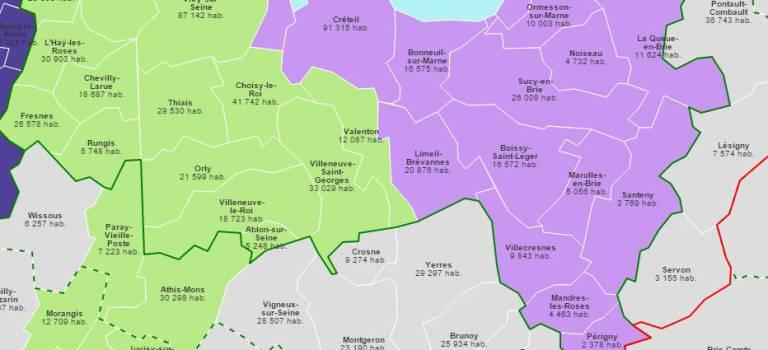 Territoires de la métropole du Grand Paris : les décrets ont été publiés