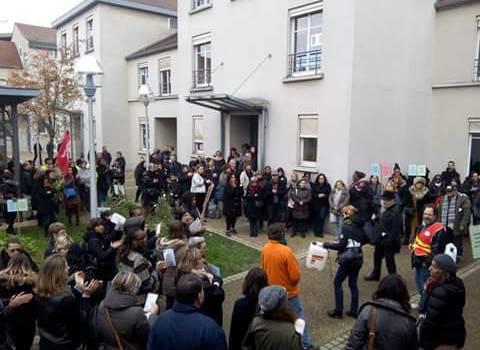 Grève des agents à Villejuif ce mercredi 15 juin