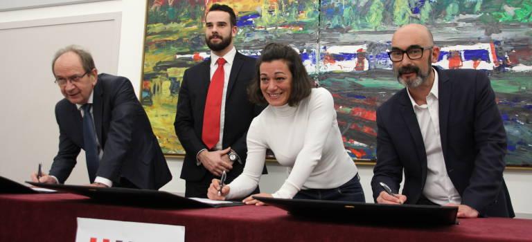 Ivry-sur-Seine et Simply Market signent une charte pour l'emploi