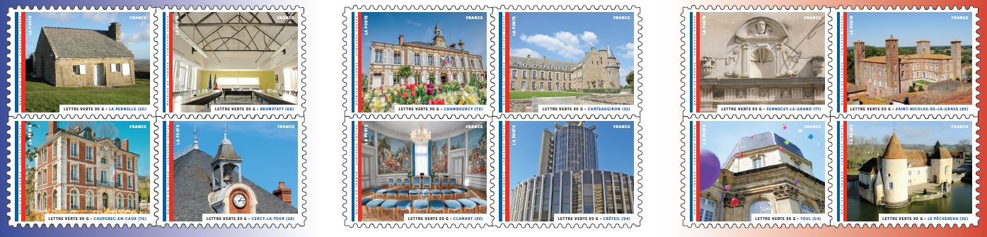 timbres mairies