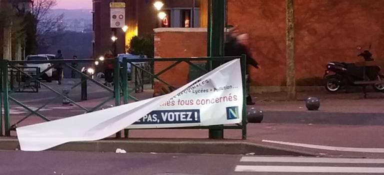 Dernières images de la campagne des régionales en Val-de-Marne