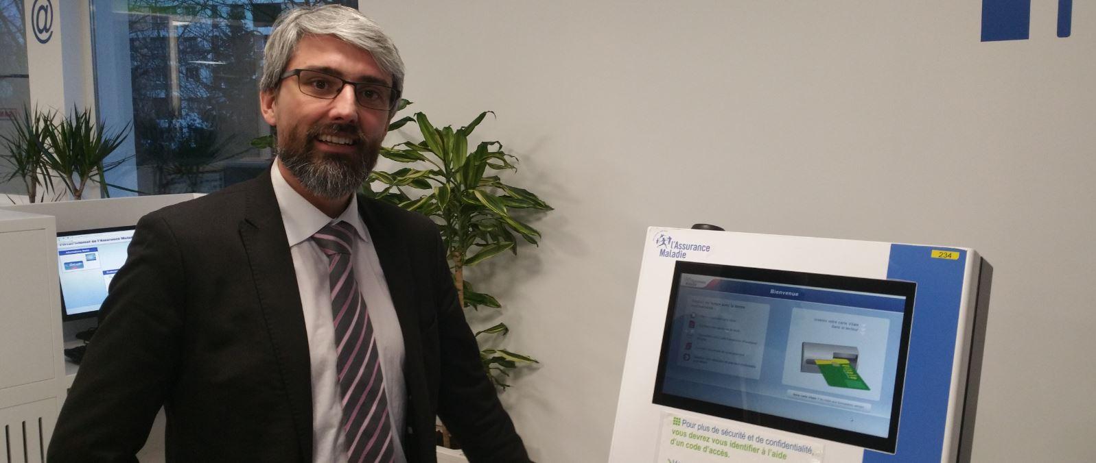 Cedric Bastelica Directeur de la relation client CPAM 94