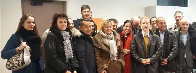 Les chefs d'entreprise rencontrent les lycéens de Robert Schuman à Charenton-le-Pont