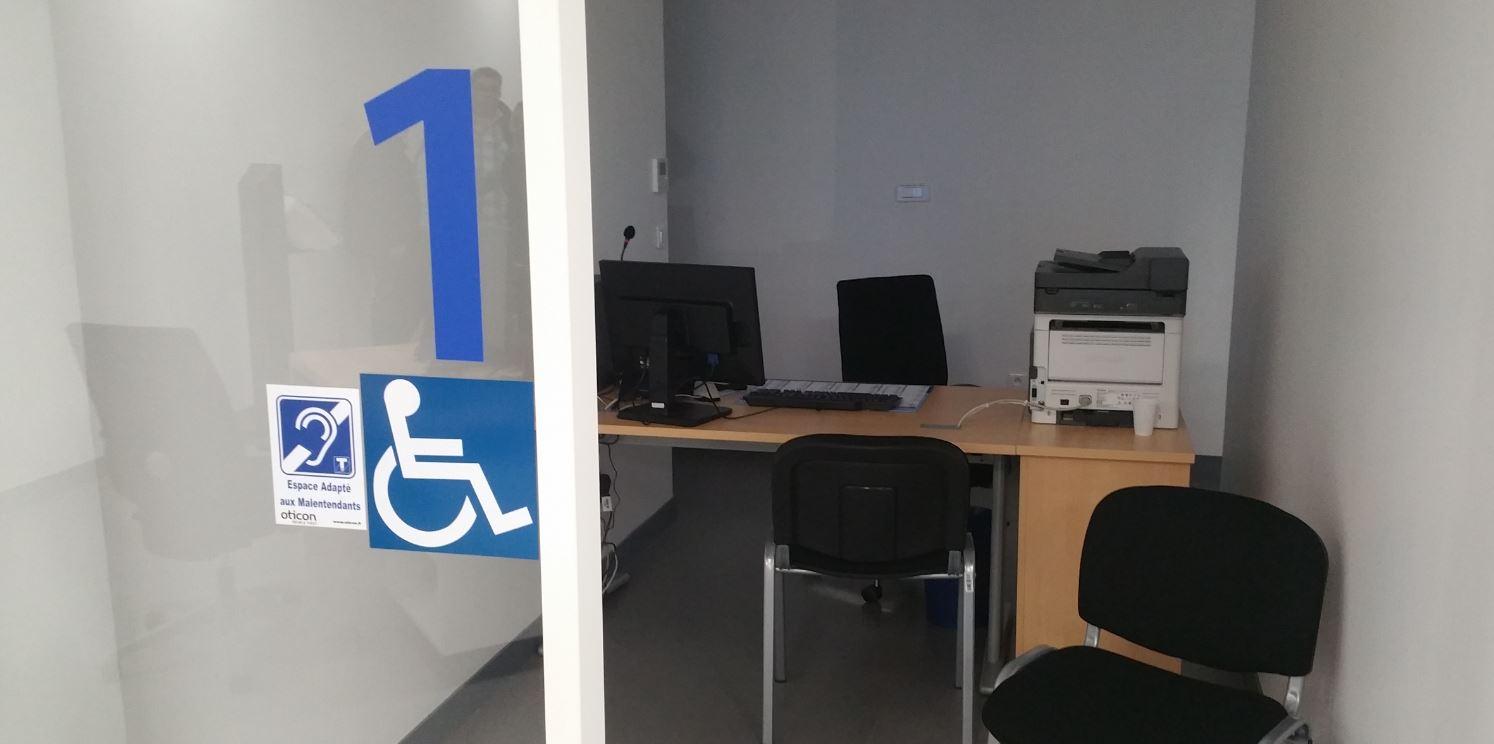 CPAM Thiais Box handicap