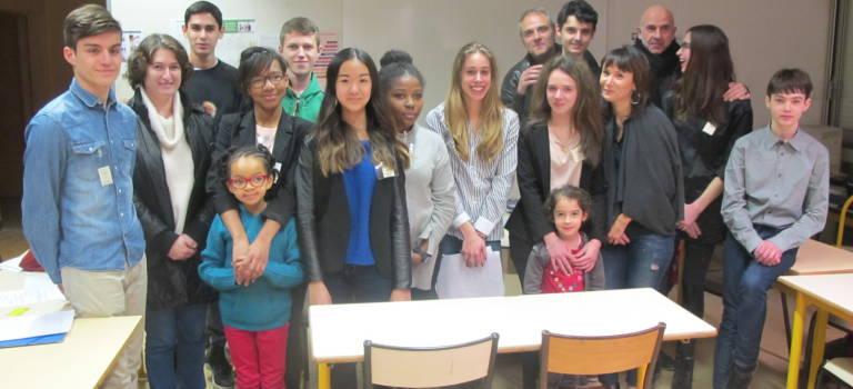 Coup d'envoi pour les mini-entrepreneurs du lycée Guillaume Budé de Limeil-Brévannes