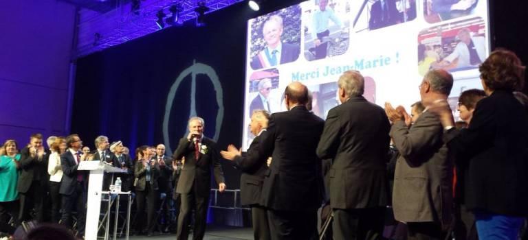 Maire de Charenton-le-Pont, Jean-Marie Brétillon va passer la main à Hervé Gicquel
