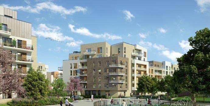 Eco-quartier Néo-C : un nouveau morceau de ville pousse derrière Pernod à Créteil