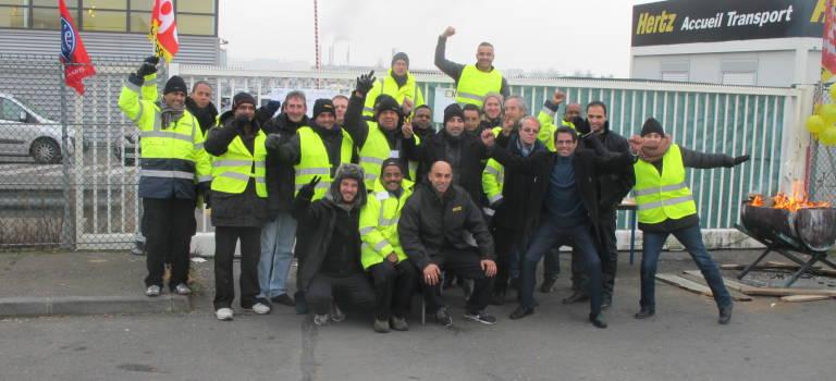 A l'aéroport d'Orly, les salariés de Hertz prolongent la grève