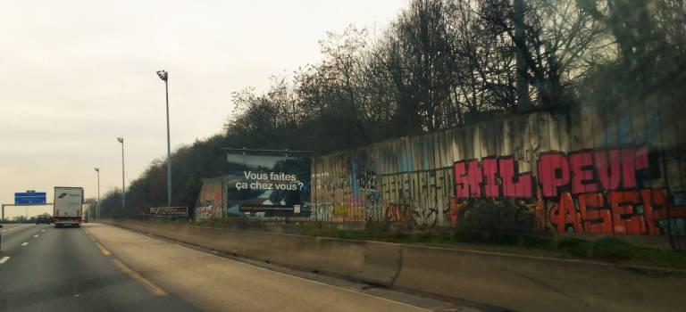 Propreté sur les autoroutes d'Ile-de-France : il y a encore du boulot