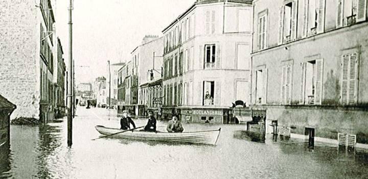 La spectaculaire crue de 1910 en ciné-débat à Créteil