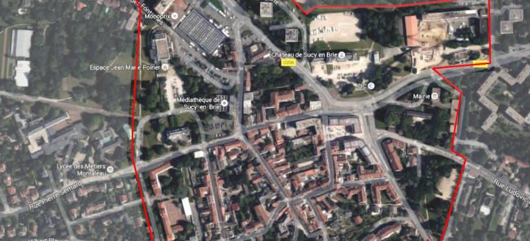 Réunion de présentation du projet centre-ville à Sucy-en-Brie