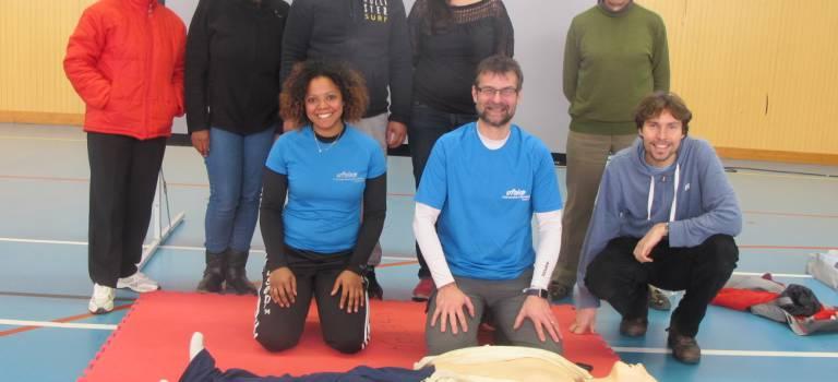 Ateliers gratuits de secourisme : tous motivés au Parc de Choisy