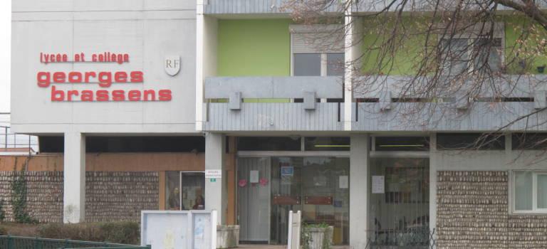 Lycée Brassens: blocus des élèves et droit de retrait des profs