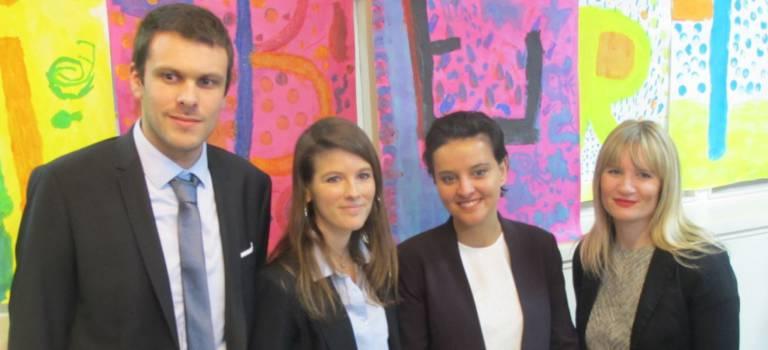 Année de la Marseillaise : les élèves de Fresnes ont «bluffé» la ministre