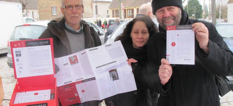 La revue L'Oiseau Rouge prend son envol à Champigny