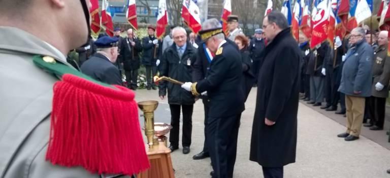 Commémorations du 19 mars très suivies en Val-de-Marne