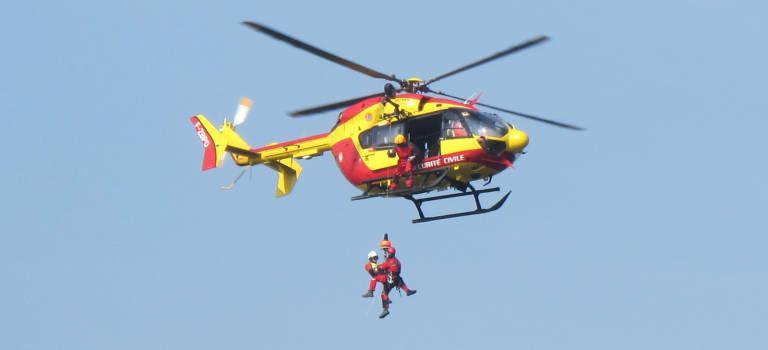 Crue centennale : spectaculaire exercice de sauvetage à Valenton