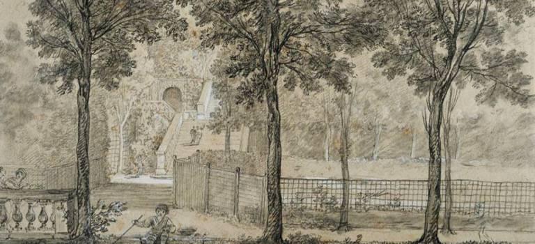 Les jardins immortalisés du château d'Arcueil au musée du Louvre