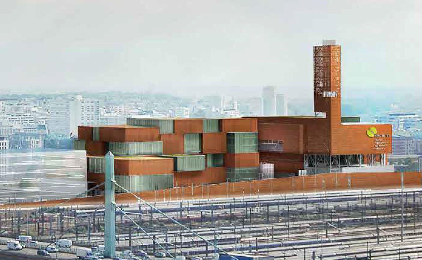 Derni re ligne droite pour la nouvelle usine d for Piscine d ivry sur seine