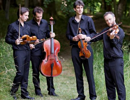 Concert du quatuor Béla de Debussy à la musique contemporaine, à Nogent-sur-Marne