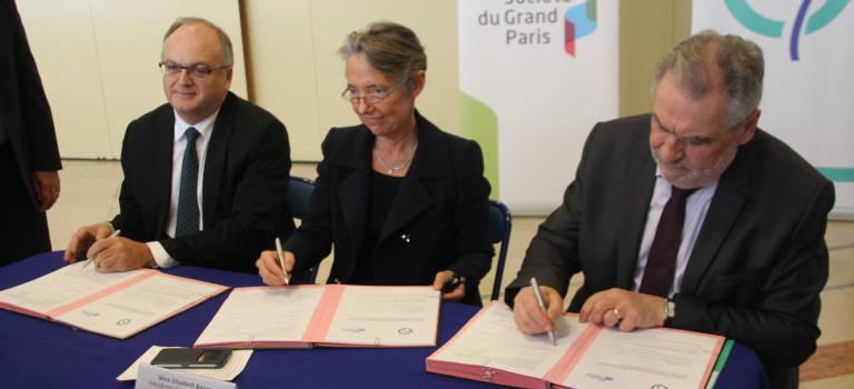 Convention Val-de-Marne – SGP- RATP pour préparer le prolongement de la ligne 14