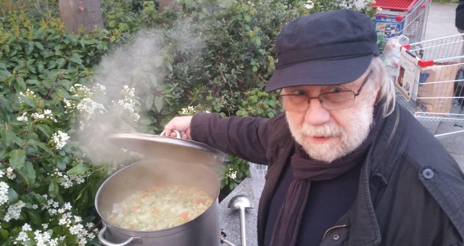Alain Soupe Nuit Debout Fontenay