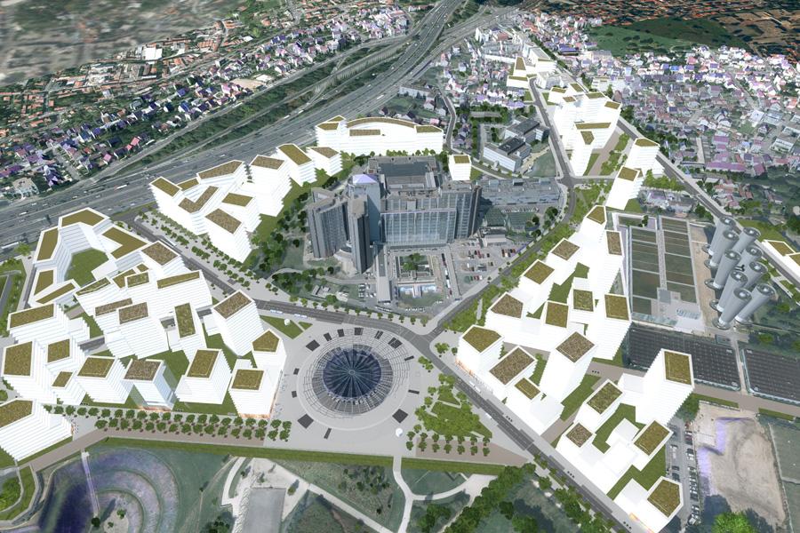 Campus Grand Parc Villejuif Trevelo et Viger-Kohler decembre 2015 - 1