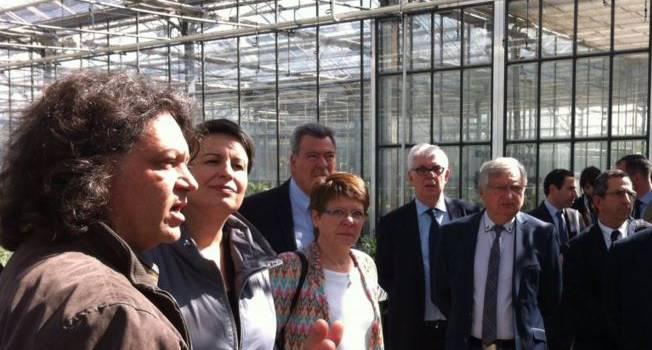 Premier bilan du territoire T11 avec la ministre des collectivités territoriales