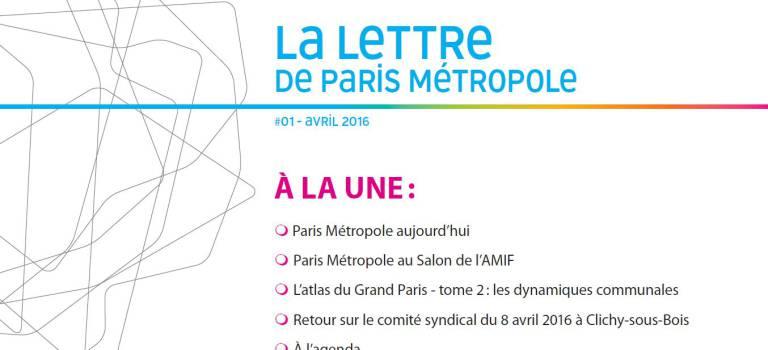 Paris Métropole lance sa lettre d'information