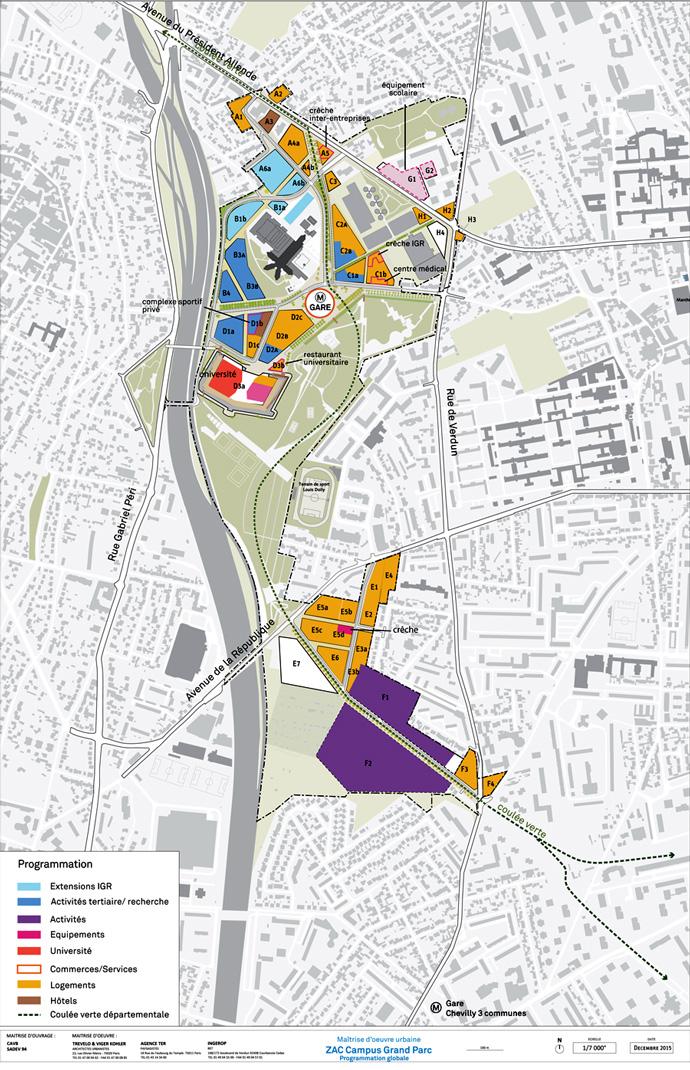 plan-strategique_Camopus Grand Parc Villejuif Trevelo et Viger-Kohler architectes urbanistes décembre 2015