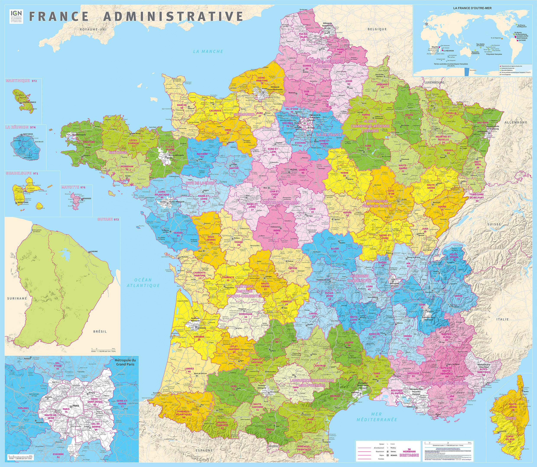 carte-administrative-france